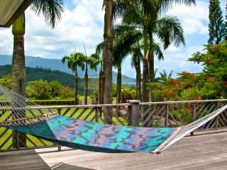 Estate WIth Pool, Hot Tub, Ocean & Sunset Views - Princeville vacation rentals