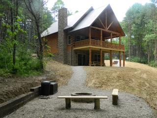 Beautiful and Secluded Amish Built Log Cabin - Logan vacation rentals