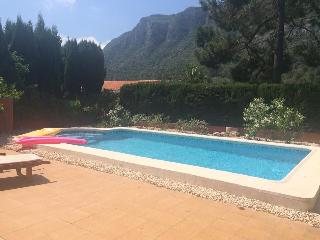 Spanish scenic mountain villa with private pool - Playa de Gandia vacation rentals