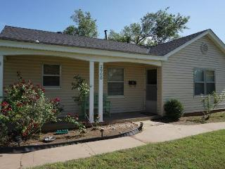 Two Bedroom House with Huge Fenced Yard - Oklahoma City vacation rentals