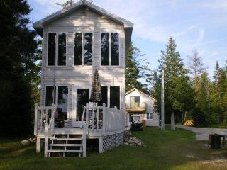 Gorgeous House with Deck and Water Views - Saint Ignace vacation rentals