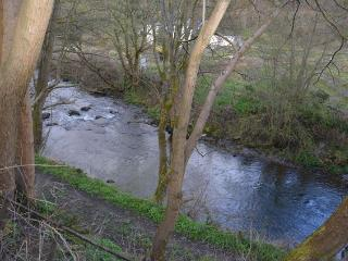 Cottage with river running at bottom of garden - Glyn Ceiriog vacation rentals