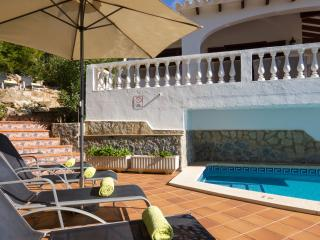 Luxury villa with sea views & private pool - Son Bou vacation rentals