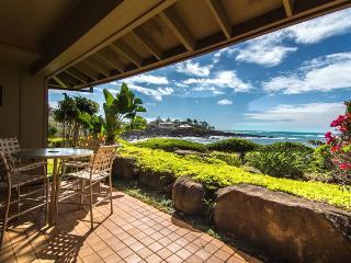 Whalers Cove 212 Beautiful oceanfront 2B/2B sleeps 6!  FREE mid-size car. - Koloa vacation rentals