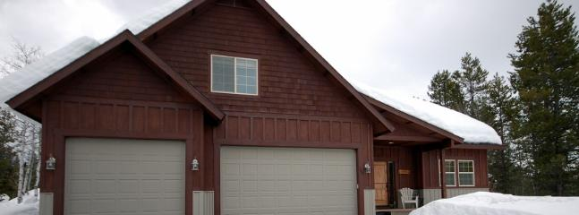 Two car parking.  Deep driveway for your toys. - TJ s Mountain Haus - Great McCall Location - McCall - rentals