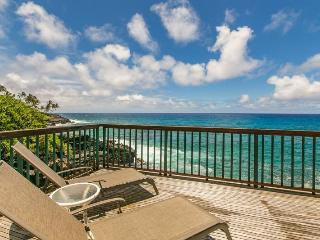 Poipu Shores 101B You cannot get closer to the ocean. FREE mid-size car! - Poipu vacation rentals