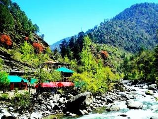 Tirthan Holidays Camp a adventure tour provider - Kullu vacation rentals