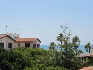 House with large garden only a minute from beach - Pervolia vacation rentals