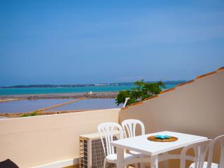 4 PAX WATERFRONT APARTMENT Terrace/Beach/Town 100m - La Savina vacation rentals