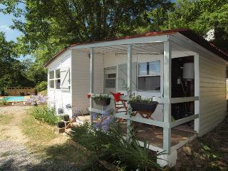Riverside chalet 2 with heated pool near Biarritz - La Bastide Clairence vacation rentals