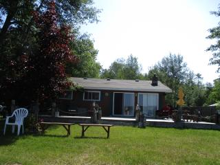 Waterfront cabin/great swimming, fishing/boating - Brimley vacation rentals