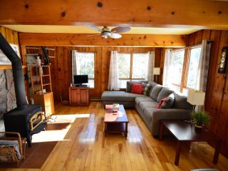 Perfect 3 bedroom Saint Faustin Chalet with Satellite Or Cable TV - Saint Faustin vacation rentals