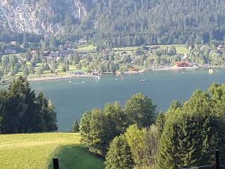 Perfect, overlooking PresseggerSee Lake & Mountain - Presseggersee vacation rentals