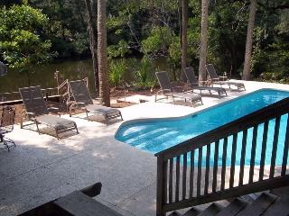Great PD home, pool, lagoon view, close to beach - Hilton Head vacation rentals
