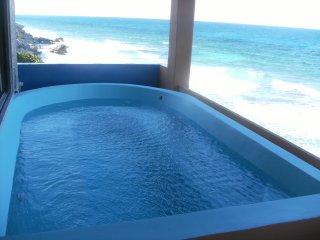 Casa Roca Caribe Upper Jacuzzi Level - Isla Mujeres vacation rentals