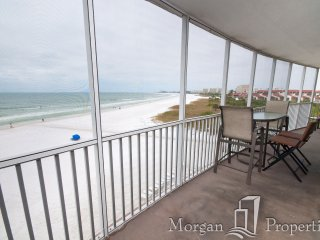 Morgan Properties - Crystal Sands 504 - 2 Bed / 2 Bath - Direct Ocean-front - Siesta Key vacation rentals