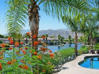 Sparkling Waters, Mountains High!  Lakefront, Private Pool/Spa Home in Mission - Rancho Mirage vacation rentals