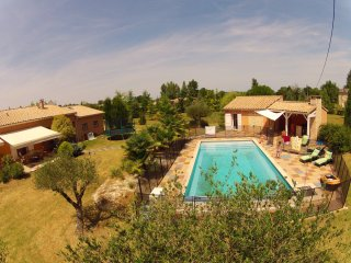 Grande maison avec piscine chauffée - Viterbe vacation rentals