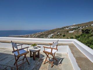 4-Bdrm Villa Mare Vista in Tinos island - Tinos Town vacation rentals