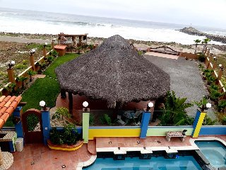 Beachfront 5 bedrooms custom home with heated pool - La Mision vacation rentals