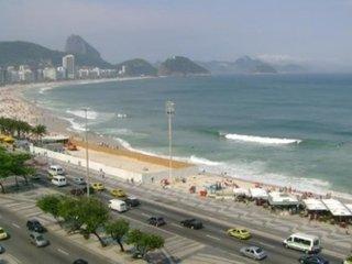 APARTAMENTO C/VISTA TOTAL DA ORLA DE COPACABANA - Rio de Janeiro vacation rentals