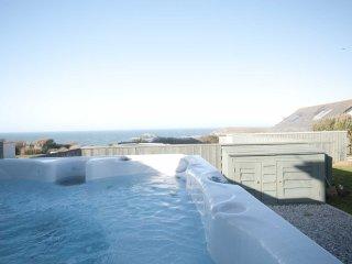 Cormorant - View over Crantock Bay with a hot tub - Crantock vacation rentals