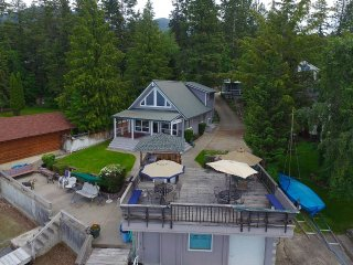 Cabin On The Shore Of Flathead Lake - Lakeside vacation rentals