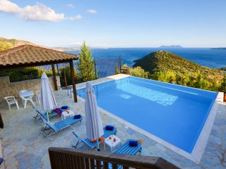 Villa Columba -Luxury and spacious villa with sea view - Sivota vacation rentals