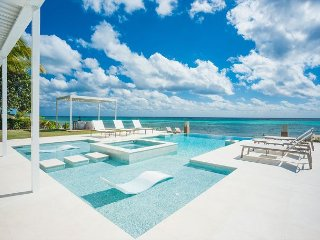Luxury Oceanfront Estate w/ Pool And Spa 6 Bed - 6.5 Bath Tranquility Cove - Grand Cayman vacation rentals