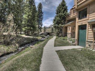 Rare Ski In/Ski Out Creekside Condo – Hot Tub & Pool in the Pines - Breckenridge vacation rentals