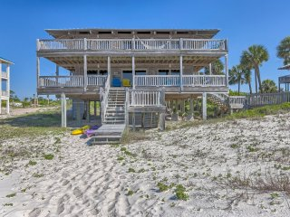 Fall Rate for July 30-Aug 7! 4BR/3.5BA Beachfront! - Saint George Island vacation rentals