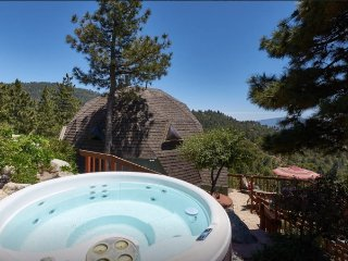 Dramatic Geodesic Dome with amazing views, spa and walk to town - Idyllwild vacation rentals