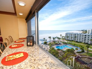 Morgan Properties - Palm Bay Club 84 - RENOVATED 1 Bed/1 Bath Direct Oceanfront - Siesta Key vacation rentals