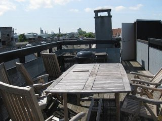 Terrace  , Exclusive, Best Area in CPH, Parks - Osterbro vacation rentals