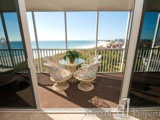 Morgan Properties - Crystal Sands 910 - Updated 2 Bed/2 Bath - Ocean-front - Siesta Key vacation rentals