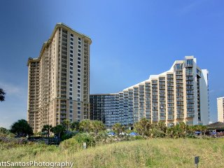 Oceanview 2 Bedroom Condo at Royal Palms with 6 Passes per Day to Hotel Pool - Myrtle Beach vacation rentals