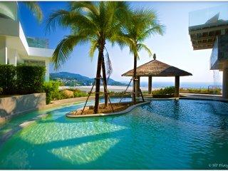 APPART LUXE VUE MER 180° PISCINE 2CH 4/6P (F6) - Kata vacation rentals
