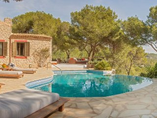 Villa with views,pool Sant Jos - Sant Jordi vacation rentals