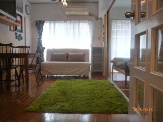 Shibuya-Nakameguro-2bedroom3 beds&mobilewifi - Shibuya vacation rentals