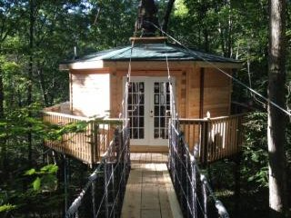 Tree House Cabin Lodging: Choose a Treehouse Hotel in West Virginia! - Hico vacation rentals