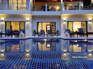 Elegant two-storey 7-bedroom VIP Villa Coral on the beach at the Villas - Nai Harn vacation rentals