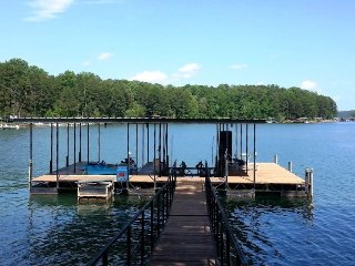 "Lake House near Clemson, Fantastic Water/Dock! Pedal Boat WiFi 60"" TV Football - Seneca vacation rentals"