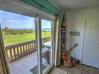 Enjoy our Beachfront Condo this Summer!  Ground Level with ocean views from Bed! - South Padre Island vacation rentals