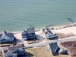 Roomy Oceanfront Home with Views of Nantucket Sound and Marthas Vineyard - East Falmouth vacation rentals
