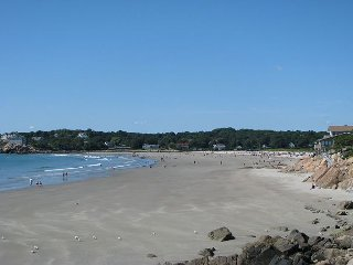 Beach Walk: Good Harbor Beach footbridge just steps away! - Gloucester vacation rentals