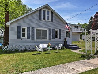 New Listing! Cozy 3BR Beulah Cottage w/Wifi & Private Backyard Entertainment Space - Within Walking Distance of Crystal Lake! - Beulah vacation rentals