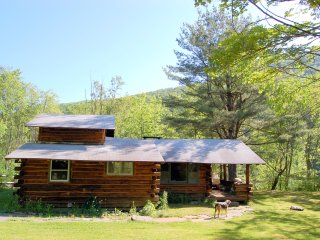 Charming, rustic Log Cabin with Mountain Views - Phoenicia vacation rentals