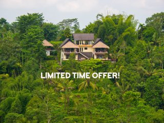 Hillside Eden, Stunning 5* Service, Amazing Views! - Payangan vacation rentals