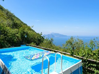 Villa with pool & sea view on Capri - Sorrento vacation rentals