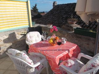 Apartments Sunce - One Bedroom Apartment with Terrace and Sea View - Murter vacation rentals